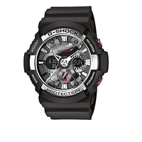 Por 87,89 euros puedes hacerte con este reloj Casio GA-200-1AER gracias a Amazon. Además el envío es gratis