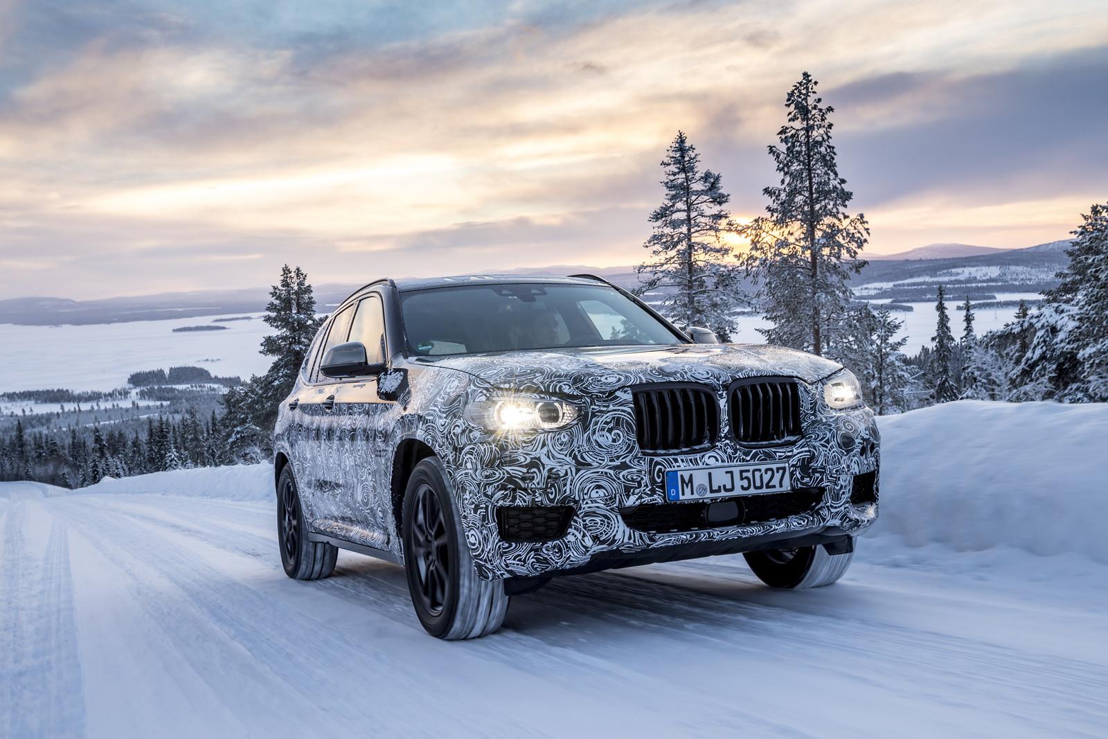 Foto de BMW X3 2018 camuflaje (4/16)