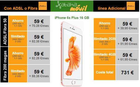 Precios Iphone 6s Plus Jazztel