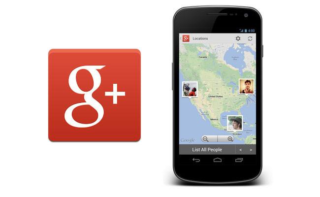 Ubicación en Google+