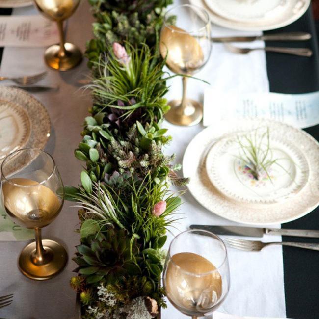 Hazlo t mismo copas doradas para la mesa de fin de a o for Mesa de fin de ano