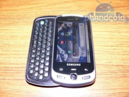 Teclado Androide, Samsung InstinctQ