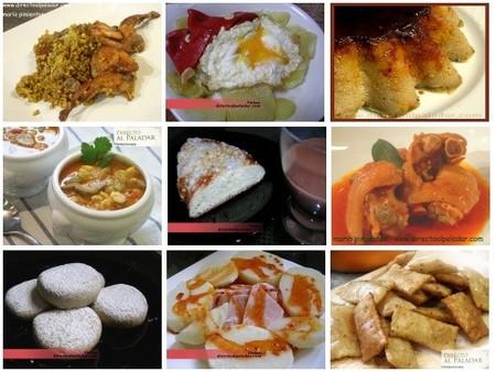 El Menú Semanal en Directo al Paladar, del 8 al 14 de diciembre