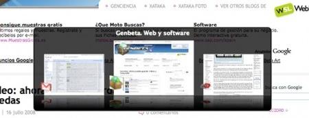 Firefox 3.1: nuevo efecto visual en el cambio de pestañas