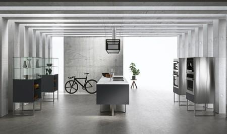 Sipario es la cocina diseñada por Makio Hasuike para ARAN Cucine, totalmente personalizable