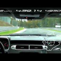 El Chevrolet Camaro ZL1 marca tiempo en Nürburgring-Nordschleife