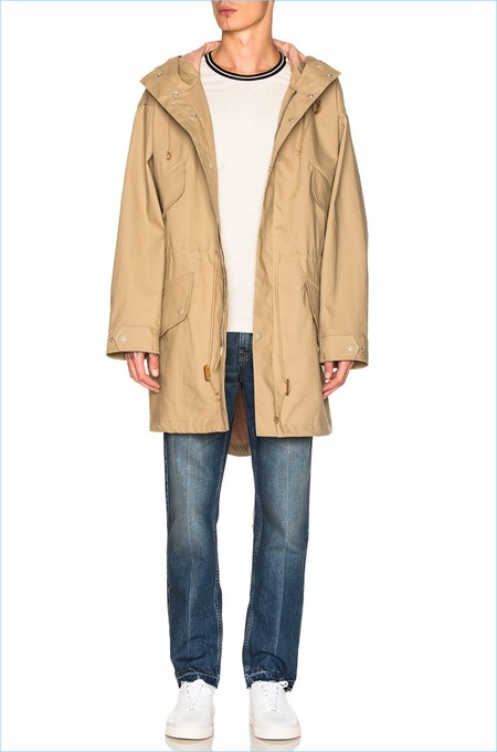 Stella Mccartney Menswear Parka