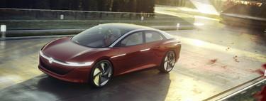 El Volkswagen I.D. Vizzion Concept sueña con el coche autónomo inteligente en media década
