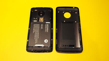 G5 batería extraíble