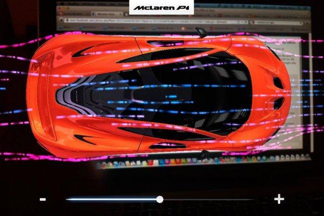 McLaren P1 App