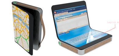 Portátil de papel electrónico y GPS