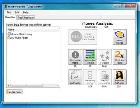 Meta-iPod nos ayuda a mantener nuestra colección de iTunes en orden