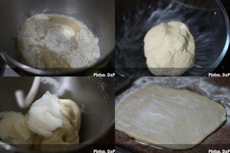 Tortas de manteca. Pasos