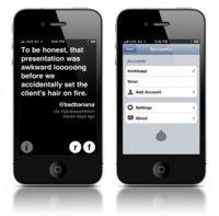 Trickle, un cliente pasivo de twitter para iOS