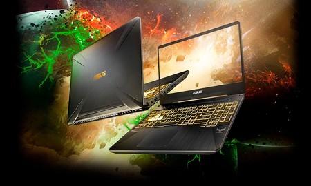 Ahórrate 120 euros comprando un potente portátil gaming como el ASUS TUF Gaming FX505DT-BQ208 esta semana en PcComponentes