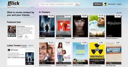 fflick responde: ¿qué película me recomiendan mis contactos en Twitter?