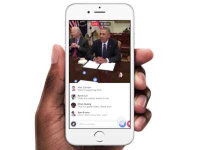 Zuckerberg laza Facebook Live, su alternativa para conquistar el streaming en directo
