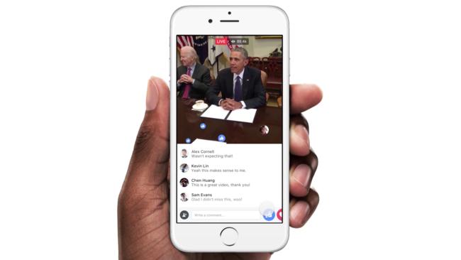 Zuckerberg laza Facebook Live, su alternativa para conquistar el streaming en directo