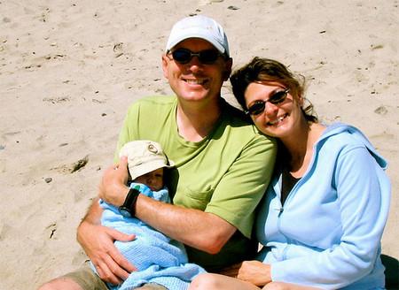 Bebés menores de 3 meses: ¿playa o montaña?