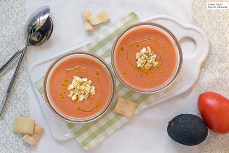 Gazpacho con aguacate: receta para una variante extra cremosa y muy nutritiva