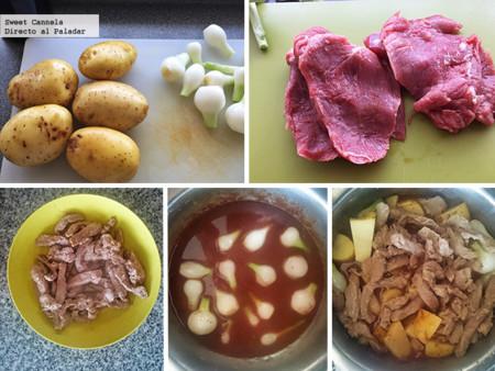 Preparacion Tiritas De Filete