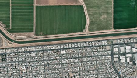 200.000 imágenes y 3.000 kilómetros: la frontera que quiere cerrar Trump, desde el aire