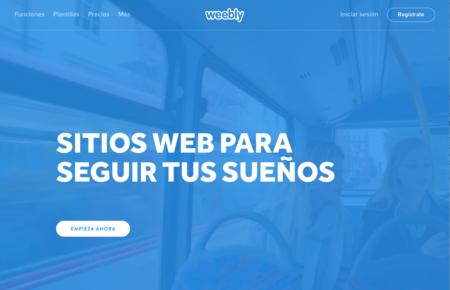 Así es Weebly, una herramienta para crear tu web sin conocimientos de diseño