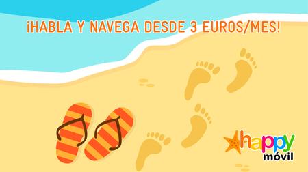 Happy Móvil resurge con nuevas tarifas de tarjeta con el precio del giga entre 2,2 y 4 euros