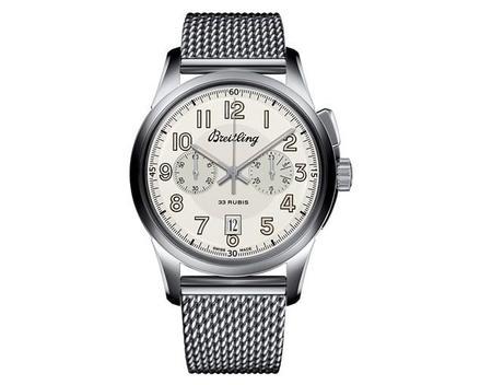 Un siglo. Un reloj: Transocean Chronograph 1915 de Breitling