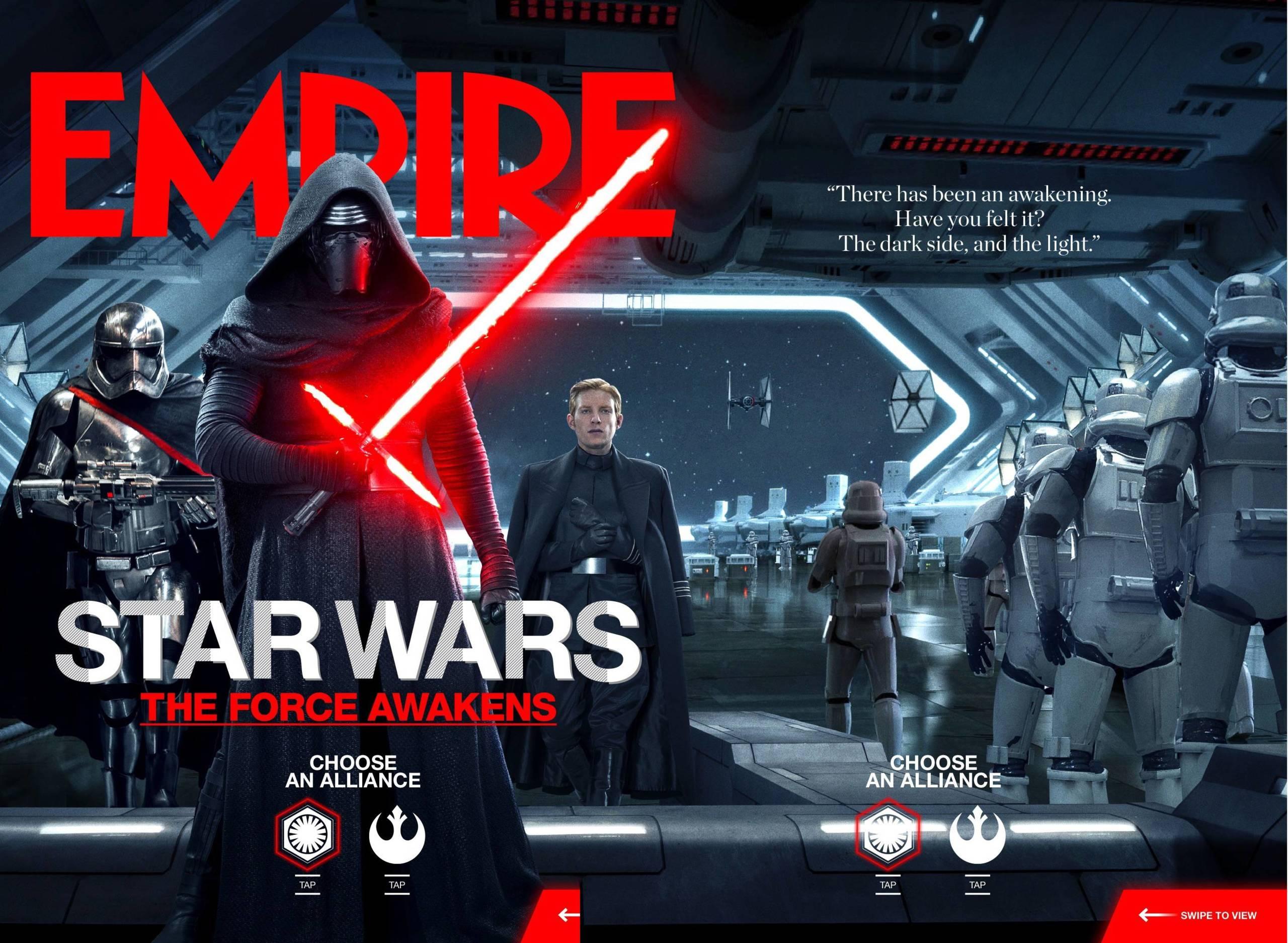 Foto de Los protagonistas de 'Star Wars: El despertar de la fuerza' (16/17)
