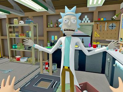 La imagen de la semana: conviértete en Morty en el juego de realidad virtual de 'Rick y Morty'
