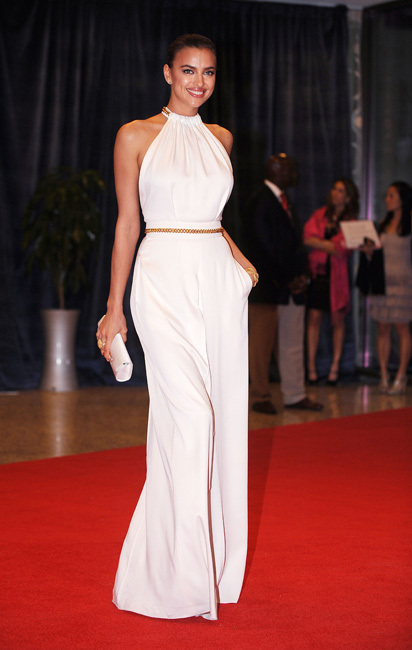 Irina Shayk white house