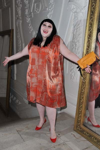 Beth Ditto Paris