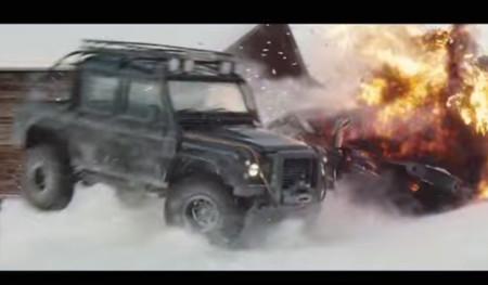 33 millones de euros en coches destrozados: así se las gastan para la nueva de James Bond, Spectre
