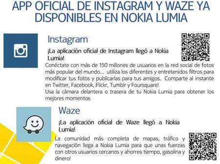 ¡Waze e Instagram llegan por fin a Windows Phone!