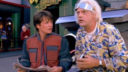 Doc Brown y Marty McFly juntos de nuevo (más o menos)