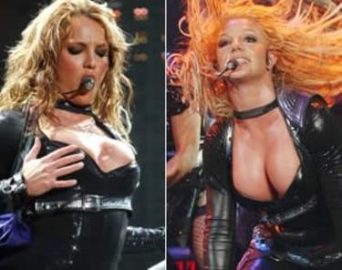 Britney está descontenta con el tamaño de sus pechos