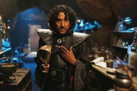 Naveen Andrews en OUAT in Wonderland.