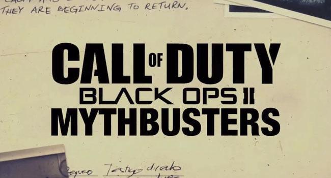 Black Ops II cazadores de mitos