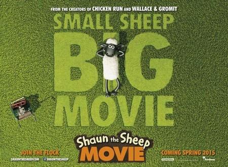 'Shaun the Sheep', teaser tráiler y cartel de la nueva película del estudio Aardman