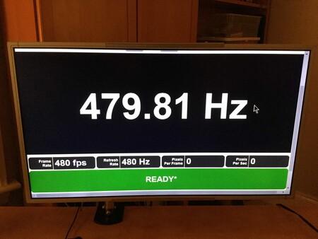 Monitor 480 Hz Prueba