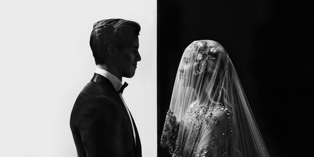 Esta imagen en blanco y negro de unos novios es la mejor foto de bodas de 2020 según The International Wedding Photographer of The Year Awards