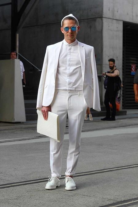 El Mejor Street Style De La Semana Adopta El Blanco Para Recibir La Primavera 11