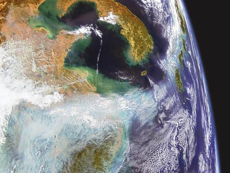 Contaminación en China (2004)