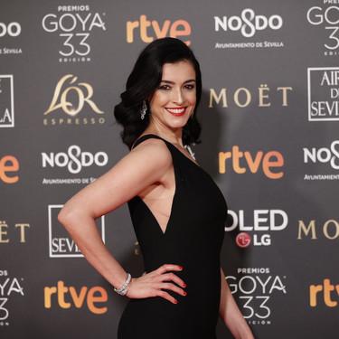 Premios Goya 2019: Blanca Romero vuelve a conquistarnos con un vestido sobrio, pero muy elegante, después de muchos tropiezos