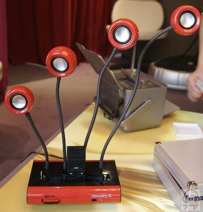 Dragon iPod, dock de diseño para el reproductor de Apple