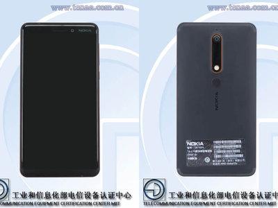 El Nokia 6 2018 sin marcos y con pantalla 18:9 se deja ver antes de su posible presentación en enero