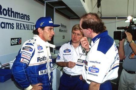 La muerte de Ayrton Senna pesa en la conciencia de Adrian Newey