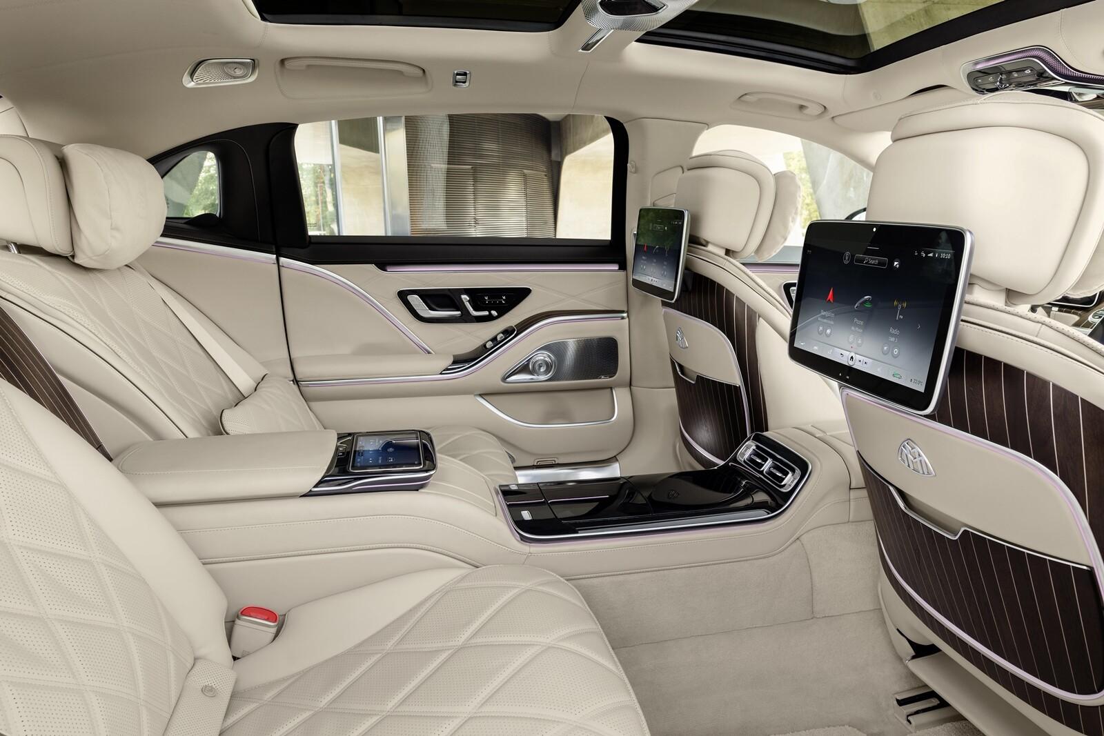 Foto de Mercedes-Maybach Clase S 2021 (11/43)
