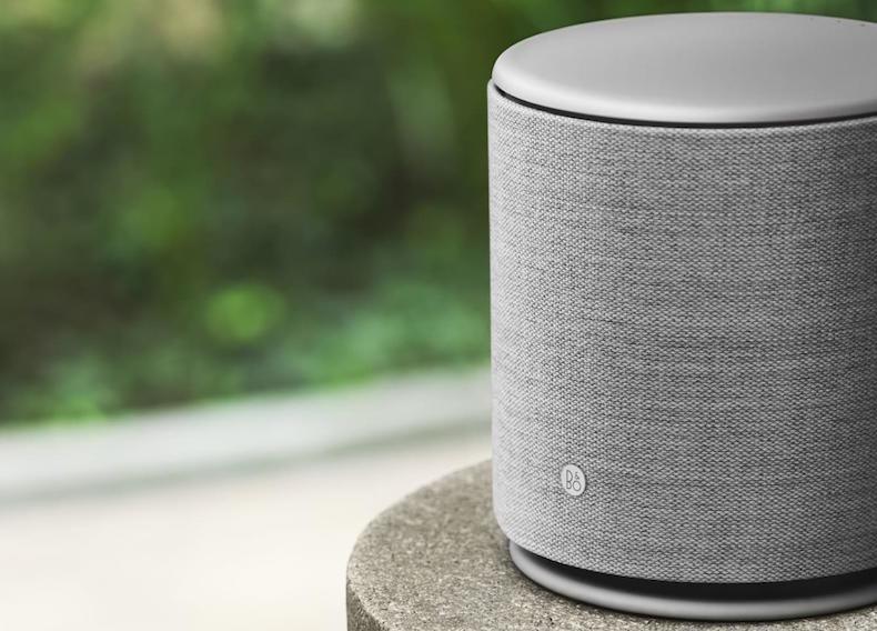 Bang & Olufsen presenta su BeoPlay M5, un altavoz Bluetooth cilíndrico sobrado de potencia